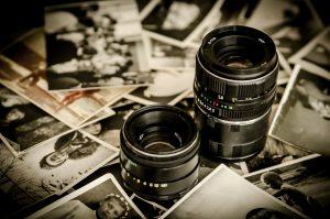 Old photos, camera
