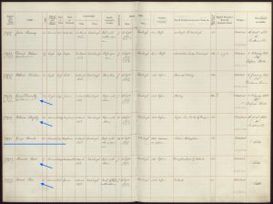 Millbank Prison Register, Convict History