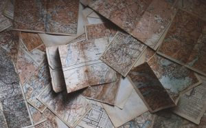 Research genealogy, old documents, old maps