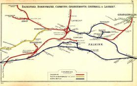 Scottish Railway, Larbert, Stirlingshire, Falkirk