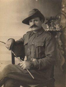 Fletcher Alderwin Brand, WWI Portrait, Western Australia, Lest We Forget