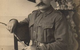 Fletcher Alderwin Brand, WWI Portrait, Western Australia