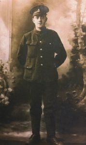 Howard Walker, Staffordshire, WWI Portrait, Lest We Forget