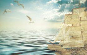 The Dilemma, Sailing Ship, Merchant Sailor
