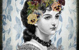 Victorian Woman, Sad, Reflective