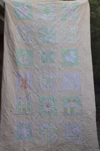 Object Biography, Family History Quilt, Patchwork Quilt