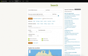 Ancestry, Genealogy Search, Family History