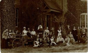 Orphan Picture, St. Catherine's Convalescent Home, Penn, Wolverhampton, Bennett Clark