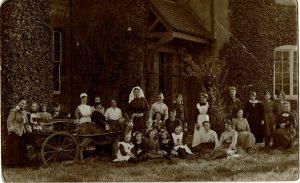 Orphan Picture, St. Catherine's Convalescent Home, Penn, Wolverhampton, Bennett Clark