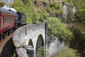 Family History Holiday, The Jacobite Steam Train, The Hogwarts Express