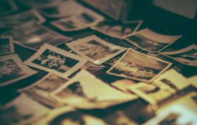 Pile of old photos - 19th Century Photographs Who is in the Photo