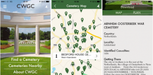 Commonwealth War Graves Commission App
