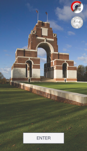 Commonwealth War Graves Commission Thiepval App