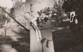 19430605 Marjorey June Brand on her Wedding Day
