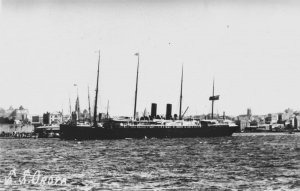 Oroya Ship 1887 Courtesy of State Library Queensland