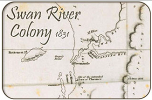 Swan River Colony, Western Australia 1831