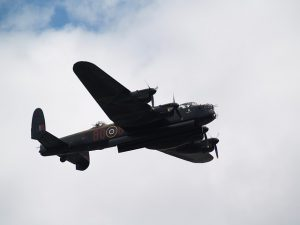 WWII Bomber England