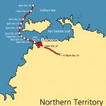 1974 Cyclone Tracy Trajectory