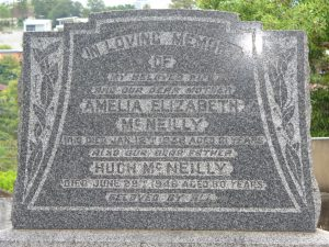 1948 Balmoral Cemetery, Hugh and Amelia McNeilly Headstone