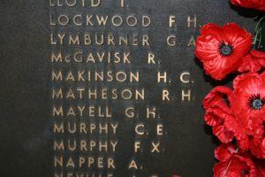 Canberra Australian War Memorial MATHESON Robert Hilton Matheson