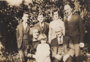 Stokes Family Staffordshire England