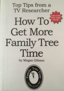 How to Get More Family Tree Time Megan Gibson