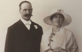 Fletcher Alderwin Brand and Gladys Gwendoline Matheson Wedding