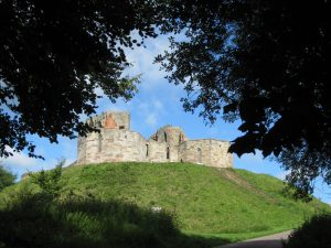 Stafford Castle, Staffordshire UK