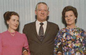 6 May 1974 Perth Gweneth, Alywin, and Marjorey Brand