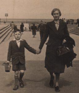 C-1945 Eric Walker and Dorcas Stokes