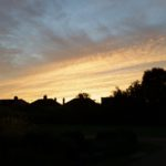 52 Ancestors in 52 Weeks Sunset over East London