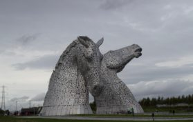 The Kelpies, Falkirk 52 Ancestors in 52 Weeks Thankful